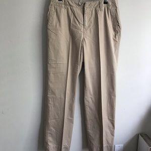 Liz Claiborne Beige Cotton Pants